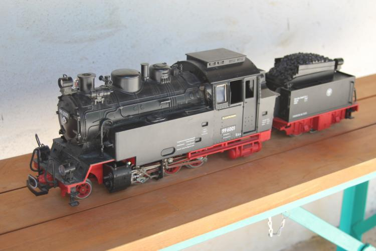 2080D Engine and 2217/6 tender